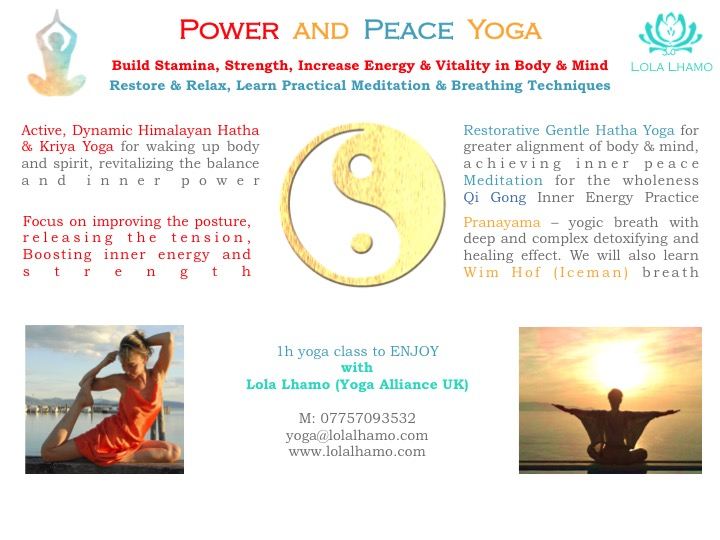 Power & Peace Yoga Lola Lhamo